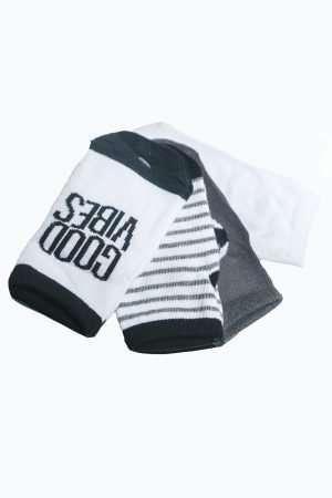 4-Pack Printed Socks
