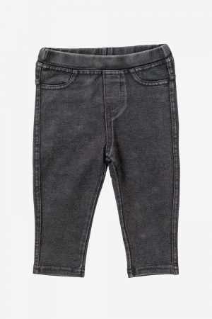 Cotton Denim Leggings