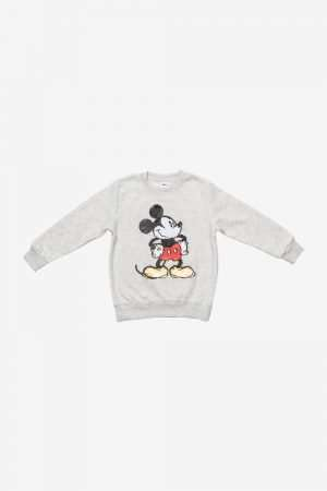 Mickey Mouse Sequin Fleece Sweatshirt