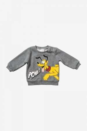 Pluto Print Fleece Sweatshirt