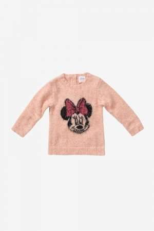 Minnie Mouse Knitted Jumper