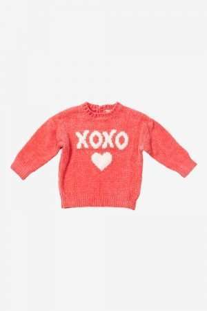 Velvet Knitted Jumper