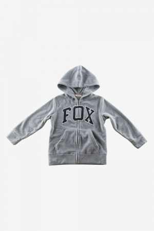 Fox Fleece Cardigan
