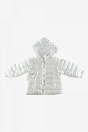 Metallic Padded Coat