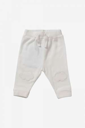 Pants with knee-patch