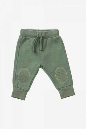Fleece Jogger with knee-patch