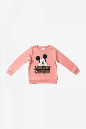 Mickey Mouse Sequin Fleece Sweatshirt