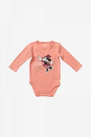 Minnie Mouse long-sleeved Bodysuit