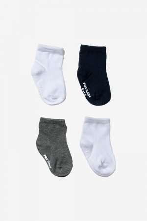 4-Pack Plain Socks