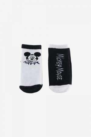 2-Pack Disney Printed Socks
