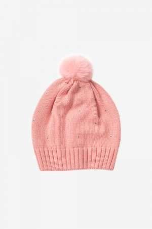 Pearl Knit Hat