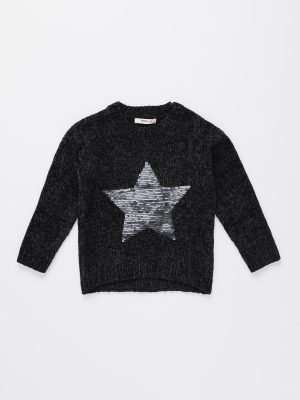 Velvet Knitted Jumper