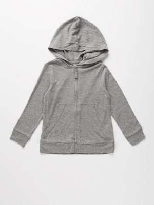 Basic Sweatshirt Cardigan
