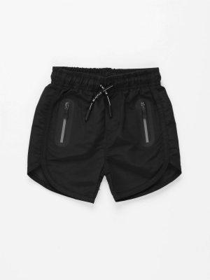 Sporty Drawstring Shorts