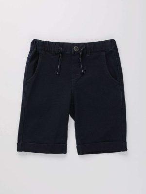 Casual Drawstring Denim Shorts