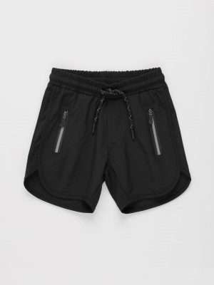 Sporty Drawstring Shorts