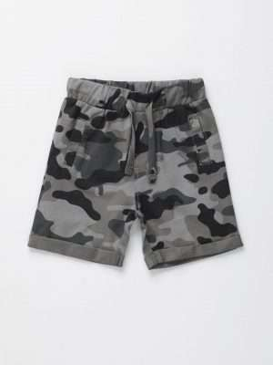 Camouflage Jersey Shorts