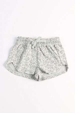 Allover Print  Jersey Shorts