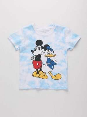 Mickey & Donald Printed T-shirt