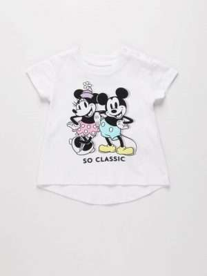 Mickey & Minnie Print T-shirt
