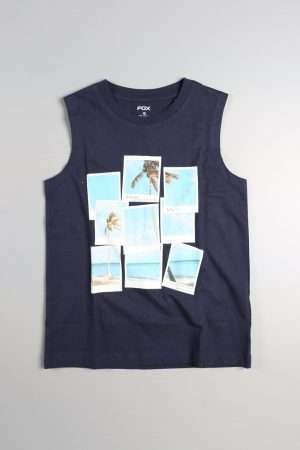 Summer Graphic Tank Top