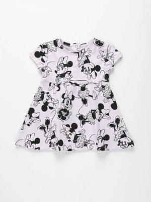 Minnie Allover Print Jersey Dress