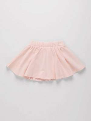 Plain Colour Jersey Skirt