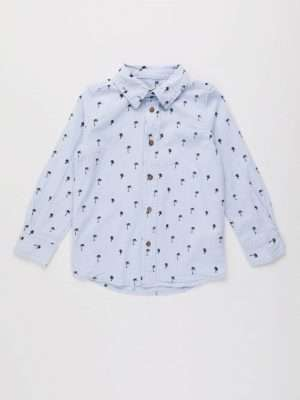 Lightweight Button-Up Shirt