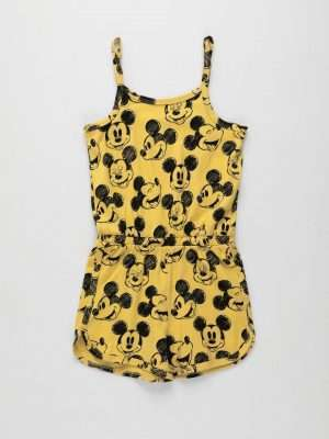 Mickey Mouse Jersey Playsuit