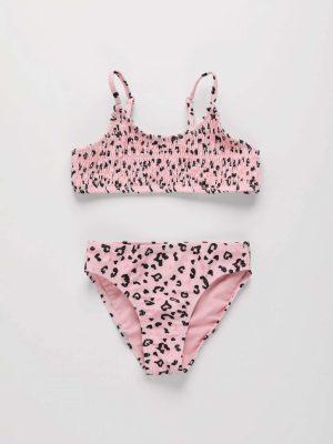 2-Piece Leopard Print Swimsuit