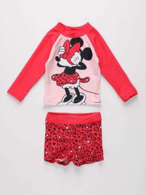 2-Piece Minnie Mouse Swim Set