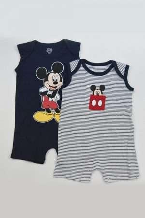 2-Piece Mickey Mouse Romper Suit Set