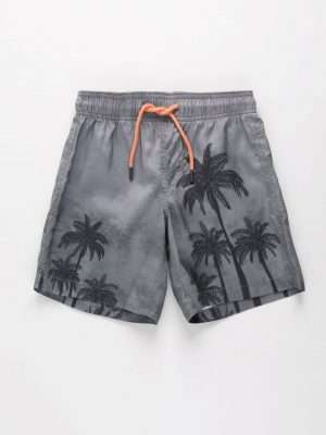 Printed Swimsuit Shorts