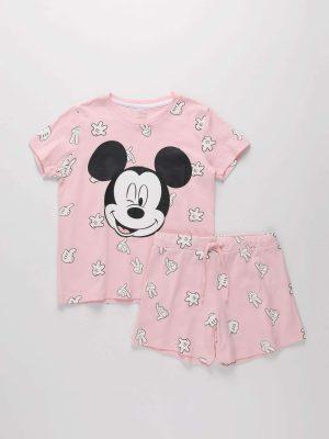 2-Piece Mickey Mouse Pyjama Set