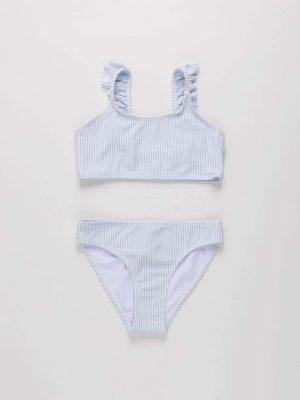 2-Piece Frill Swimsuit