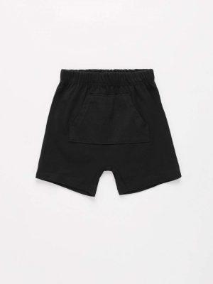 Front-Pocket Cotton Shorts