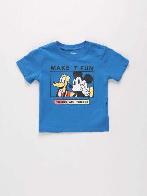 Mickey & Pluto Printed T-shirt
