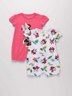 2-Piece Minnie Mouse Romper Suit Set