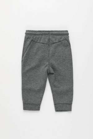 Joggers with Side Zipped Pockets
