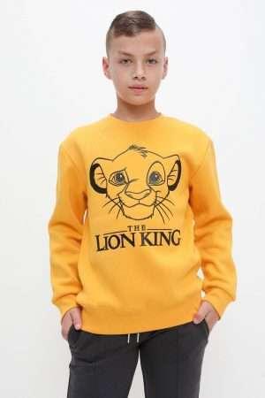 The Lion King Print Fleece Sweatshirt