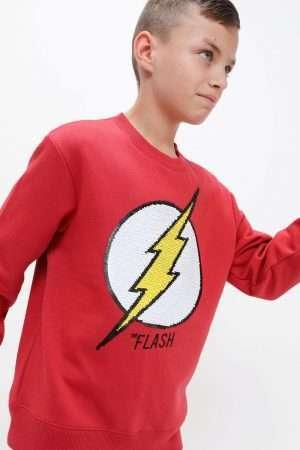 Flash Sequin Fleece Sweatshirt