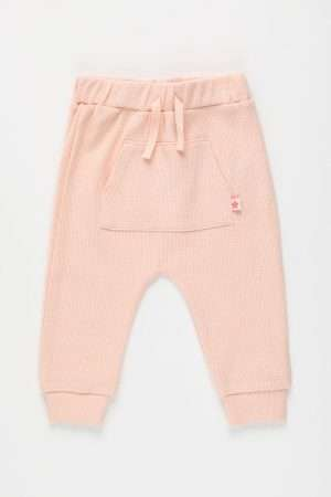 Jersey Drawstring Pants with front-pocket