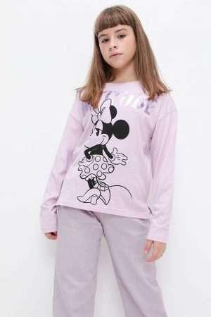 Minnie Mouse Print Tee