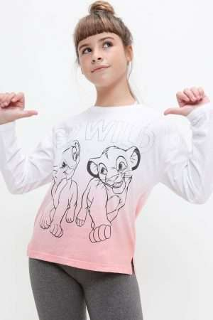 Simba & Nala Print T-shirt