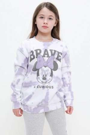 Minnie Mouse Tie-Dye Fleece Sweatshirt