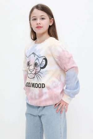Simba Tie-Dye Fleece Sweatshirt