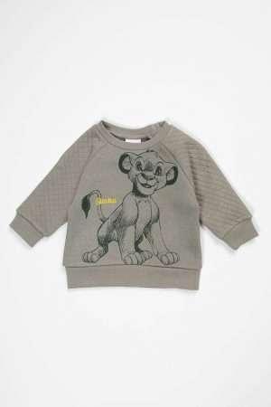 Simba Print Fleece Sweatshirt