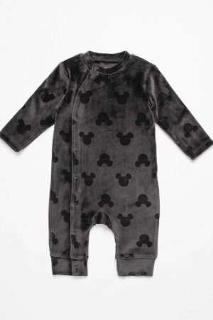 Mickey Velvet Jumper Suit