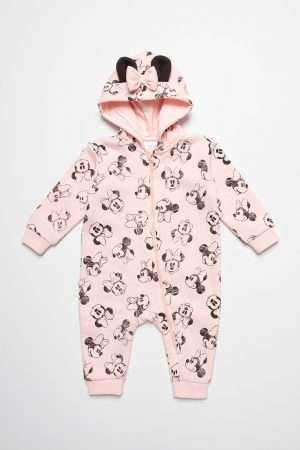 Minnie Print Jumper Suit