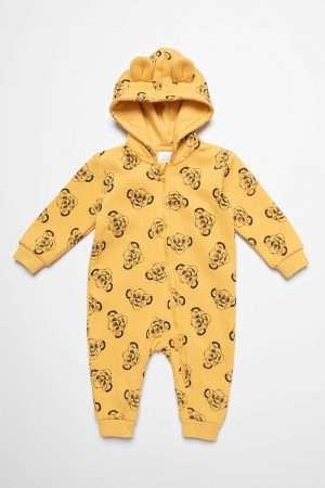 Simba Print Jumper Suit